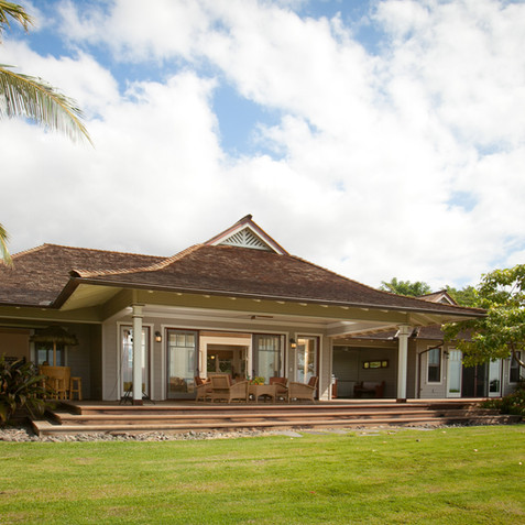 Hawaiian Plantation Cottage