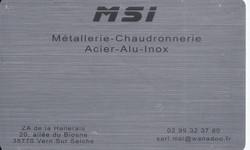 Nos Sponsors - MSI