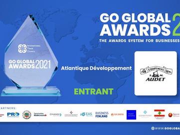 SM AUDET EQUIPEMENT FOR GO GLOBAL AWARDS 2021