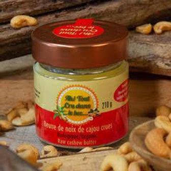 Beurre de noix de cajou crues