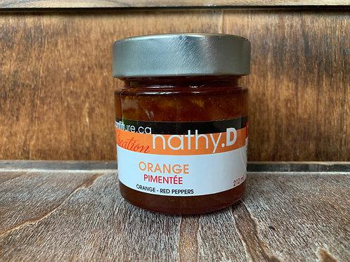 Orange pimentée
