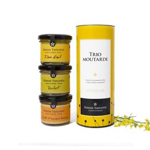 Trio moutarde 3x125ml