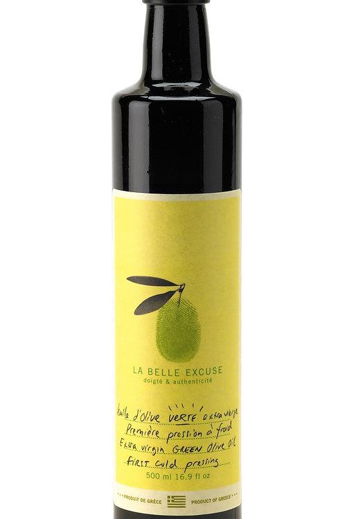 Huile d'olive verte 500 ml