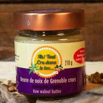Beurre de noix de Grenoble crues