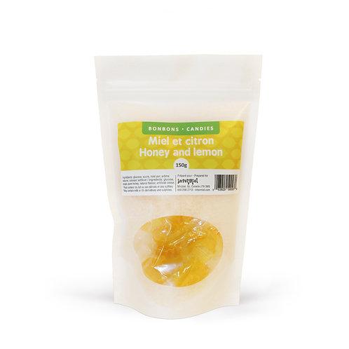 Bonbons miel et citron 150g