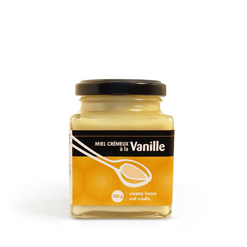 Miel crémeux à la vanille 250g