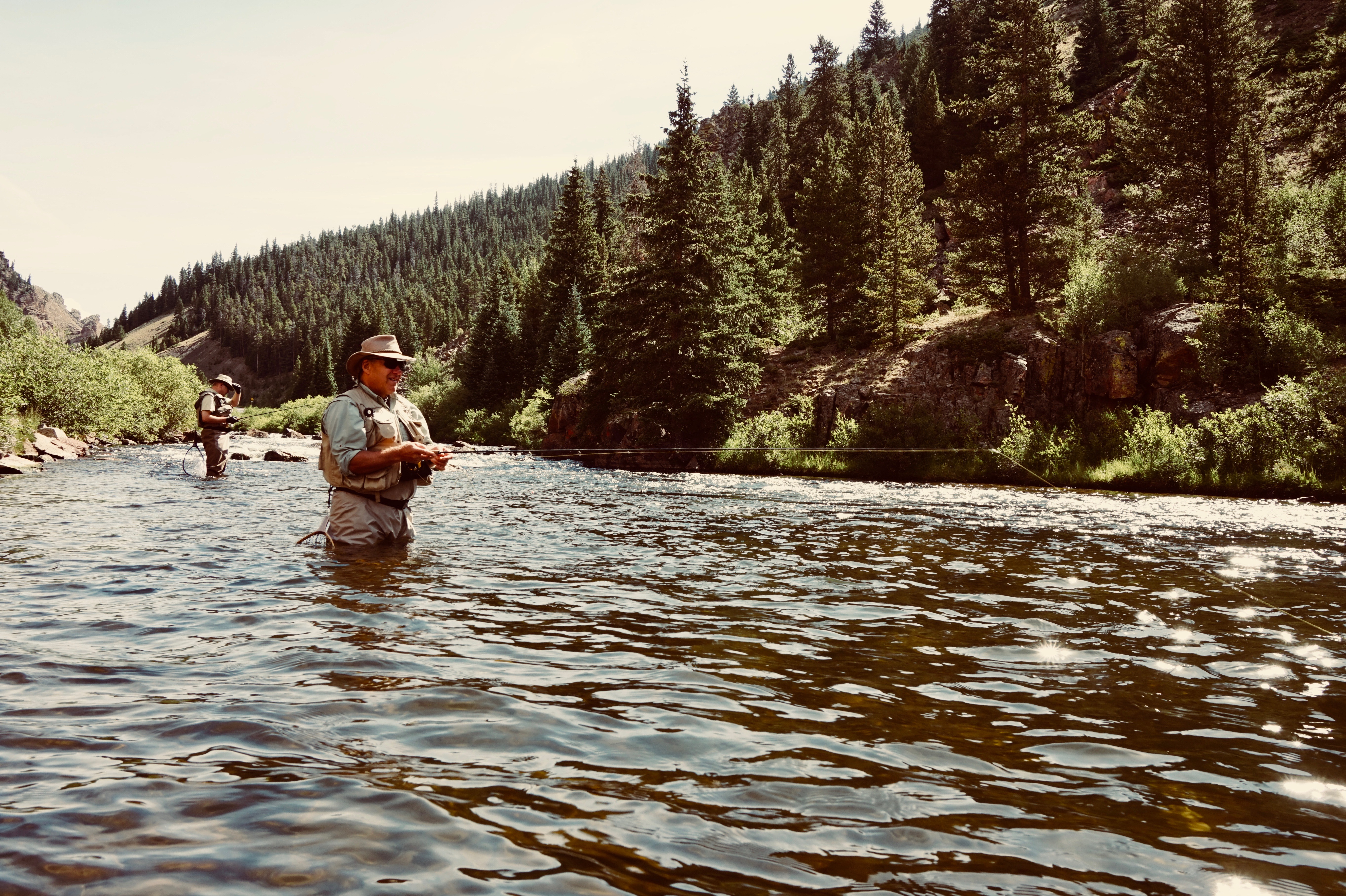 Fly Fishing the Taylor River
