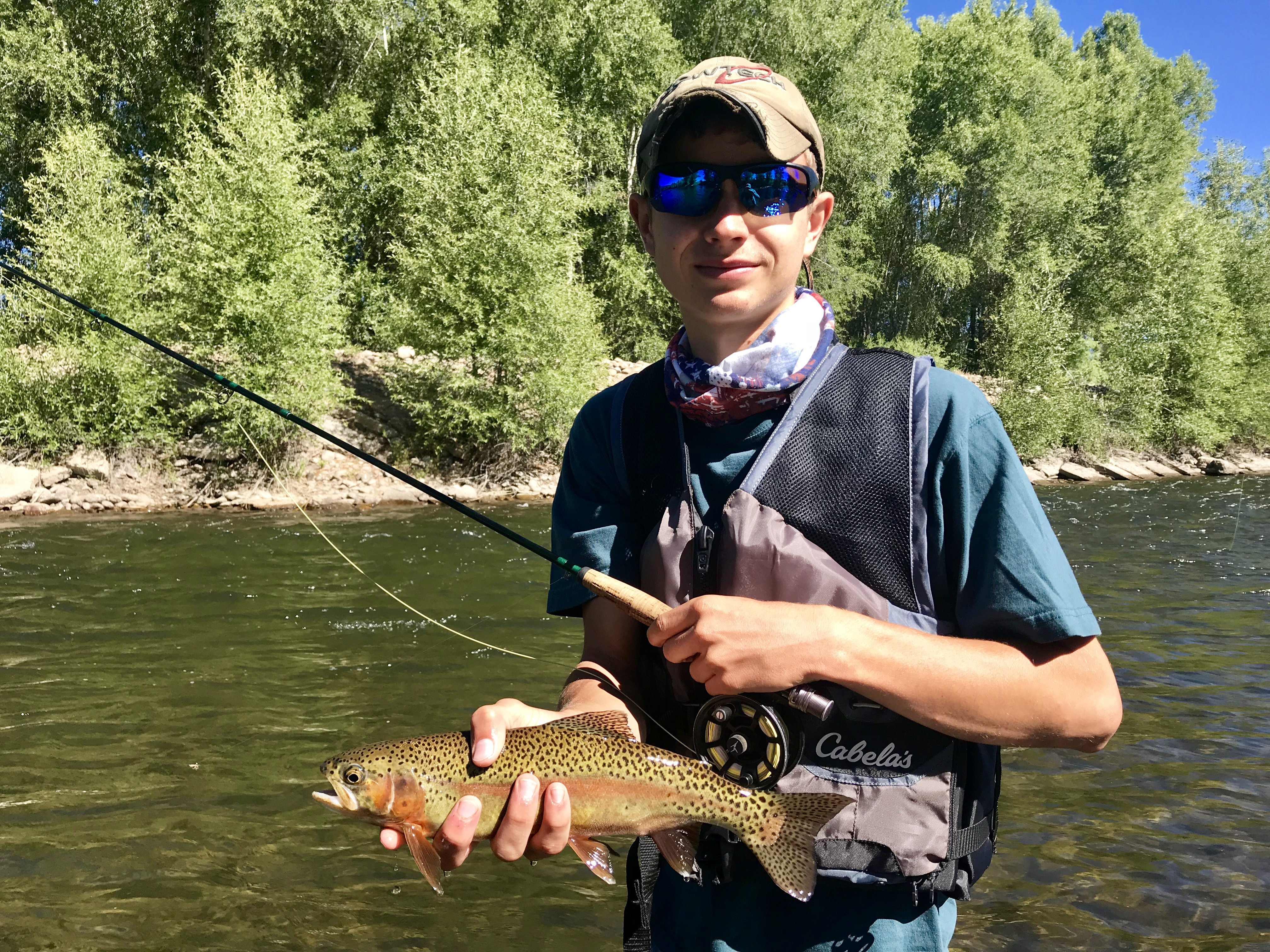Gunnison River Rainbow