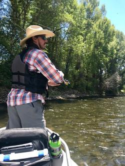 Float Fishing on the Gunnison River