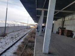Loading dock & Railway