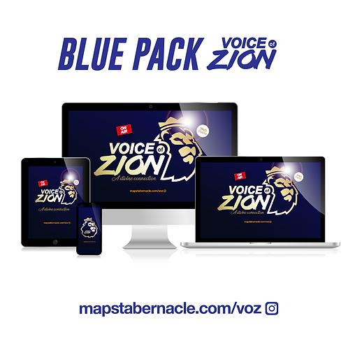 FONDS D'ECRAN - VOZ / BLUE PACK (Smartphones, tablettes et ordi.)
