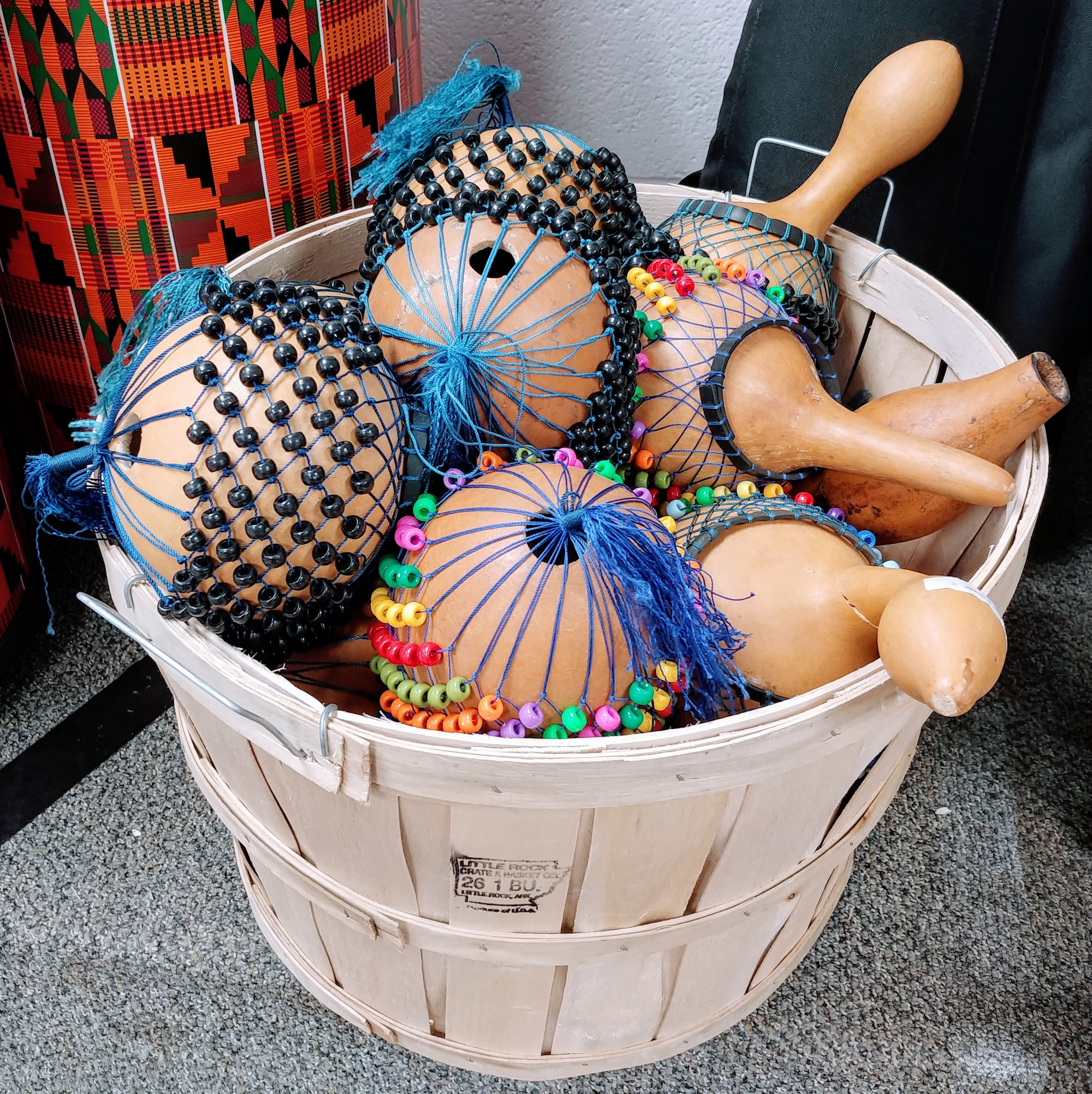 Gourd Rattles (Part of the World Music Drumming curriculum)