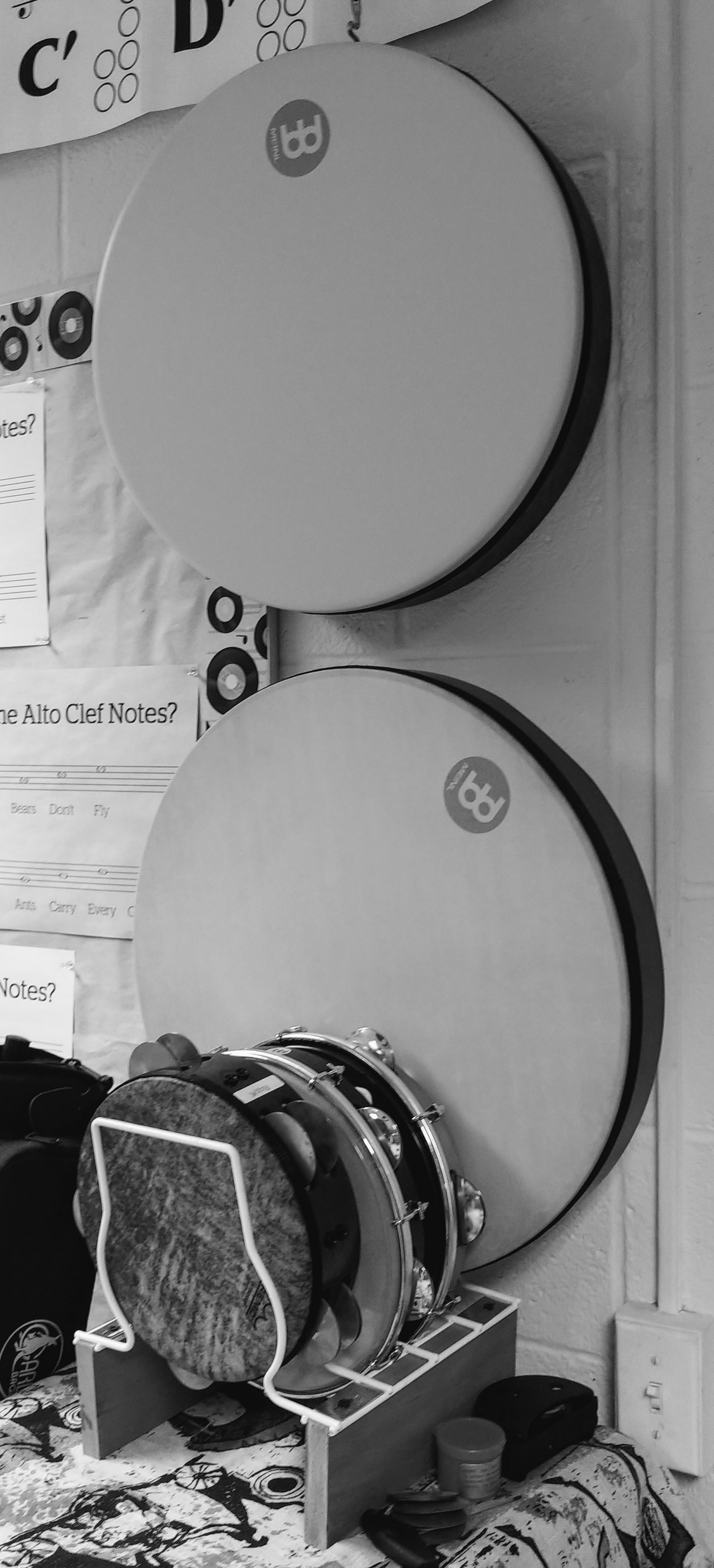Frame Drums, Pandeiro, and Riqq