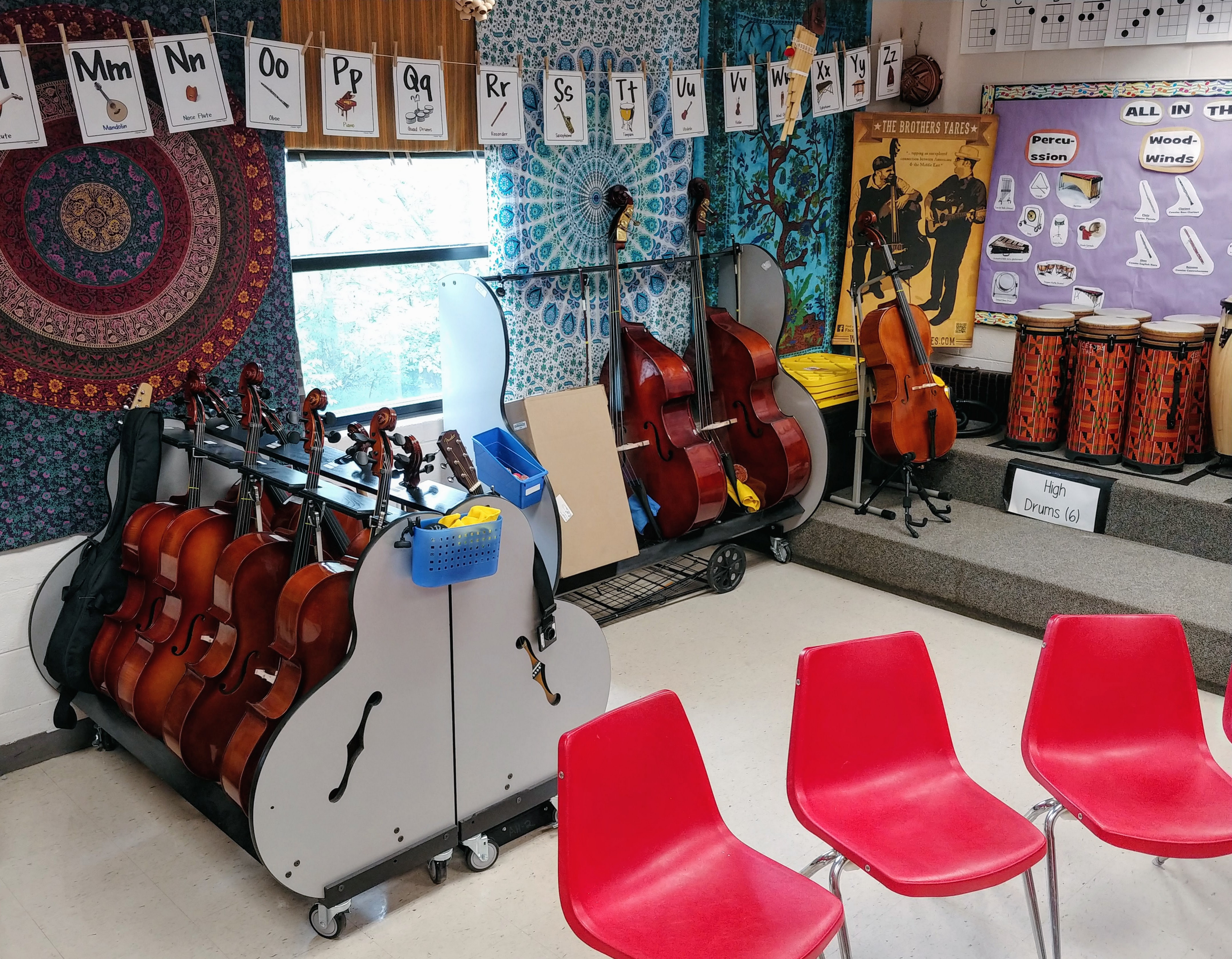 School Cellos and Double Basses