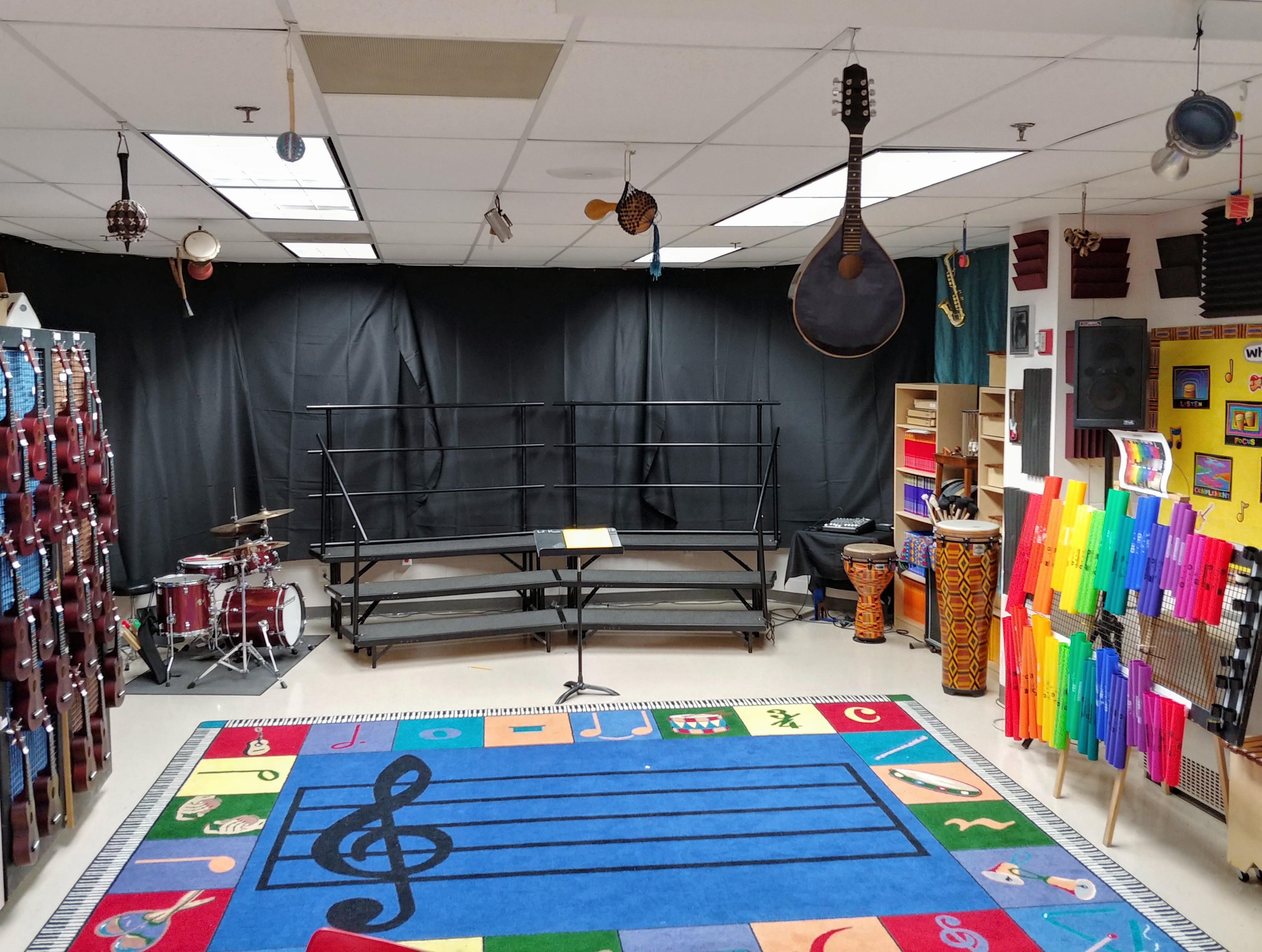 In-class Performance Space