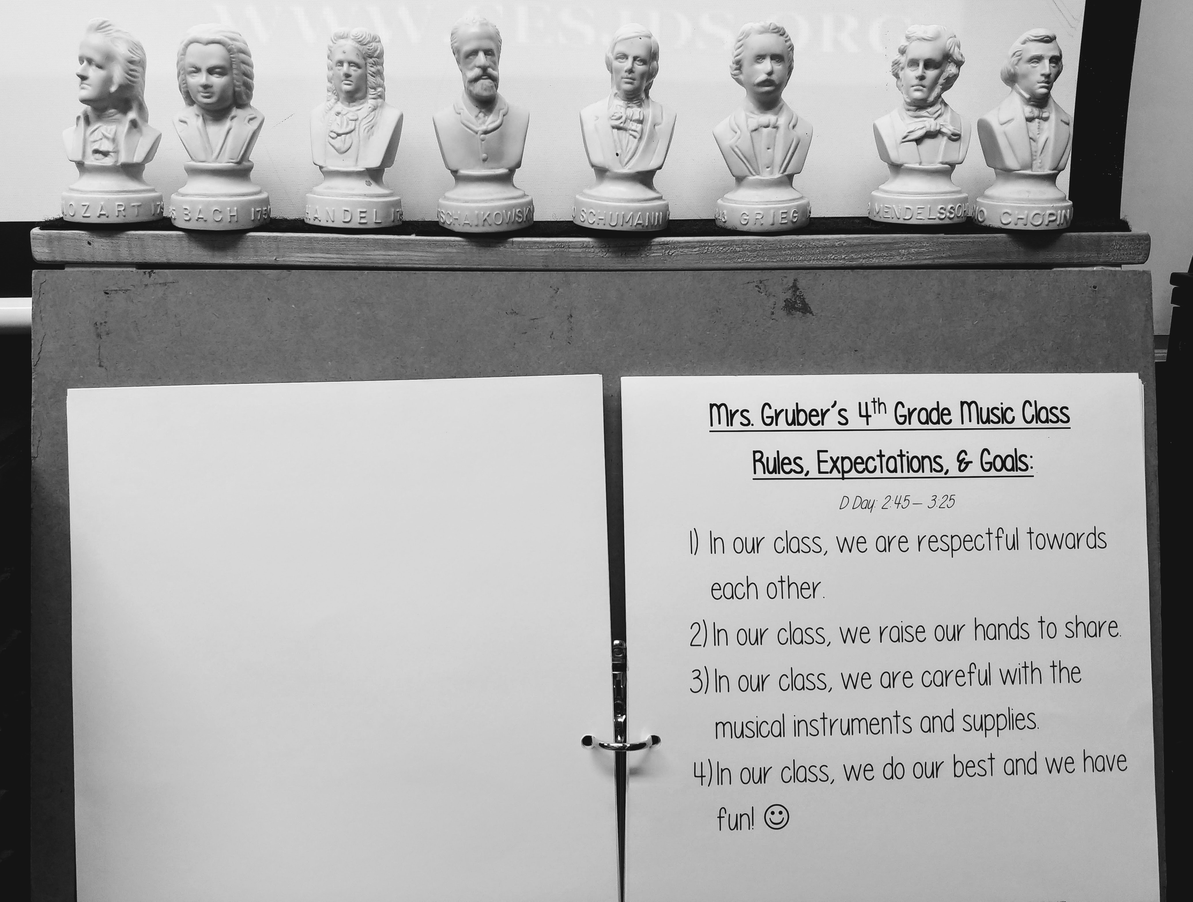 Student Crafted Rules (Responsive Classroom inspired)