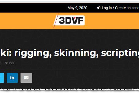 Subbu Addanki: rigging, skinning, scripting