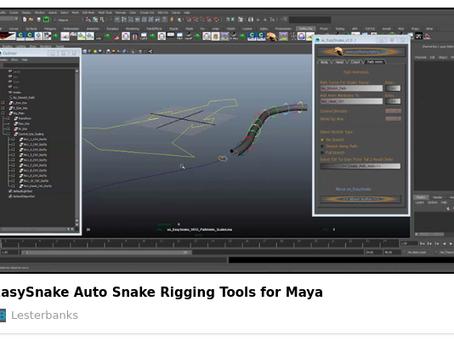 EasySnake - Auto Snake Rigging in Maya