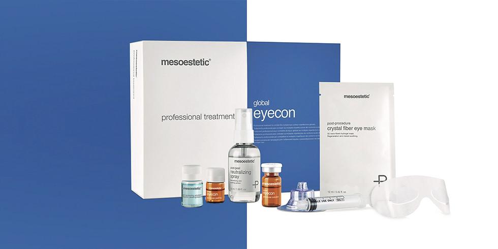 EYECON peel og mesoterapi for øyepartiet
