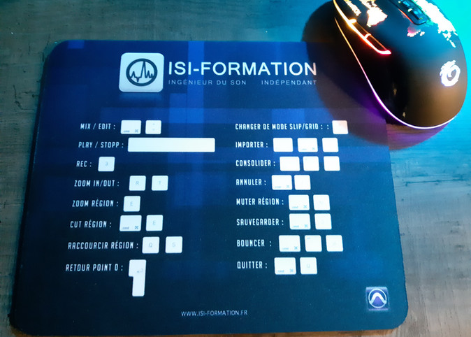 Raccourcis ISI-Formation