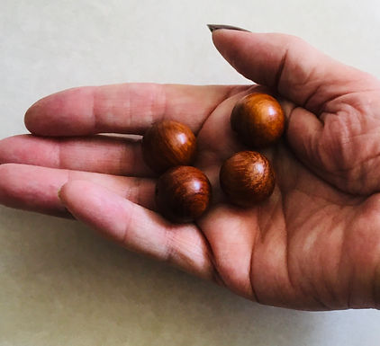 Wooden Beads. 4 pack