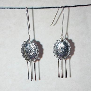 Concho Dangle Earrings