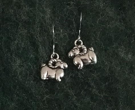 Sheep or Goat Earrings