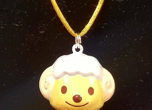 Lamb Bell Necklace