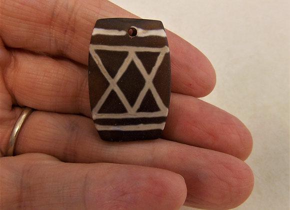 Genuine Carnelian Pendant