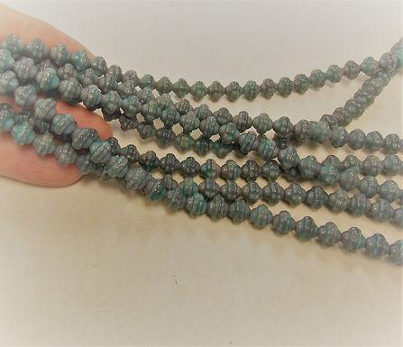 Czech Glass Beads, CZ18, 1 strand