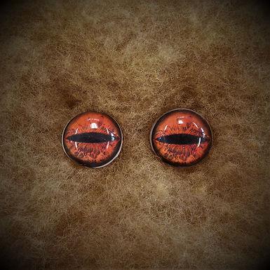 Glass Flatback Critter Eyes, CR5, 1 pair