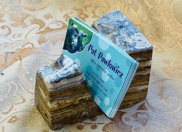 genuine Stone Card Holder