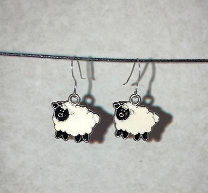 Little Fluffy Sheep Earrings