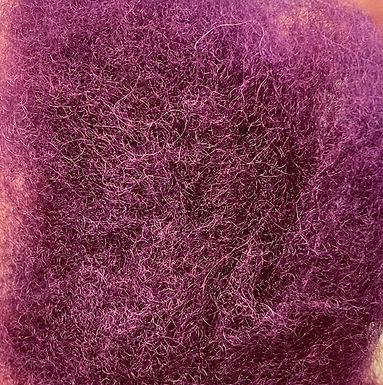 Wool Batting, P-3 (plum)