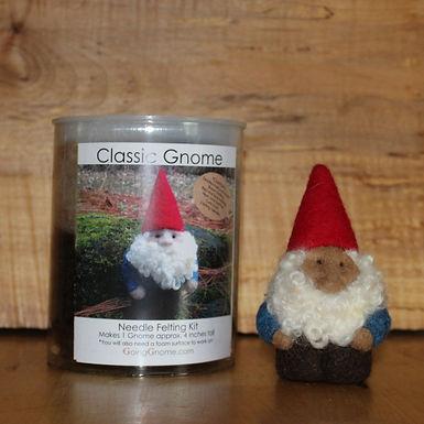 NeedleFelting Kit, Classic Gnome man