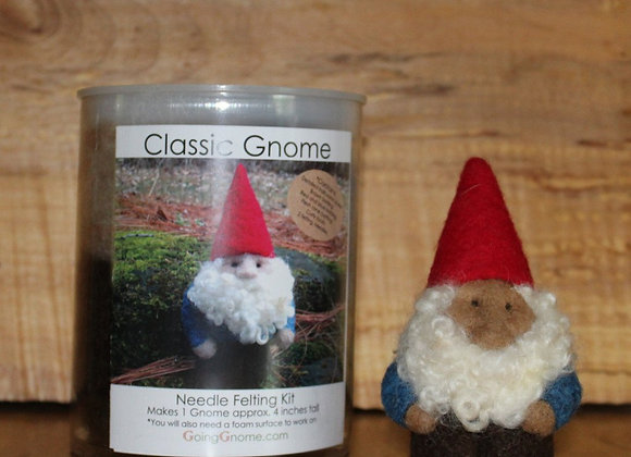 NeedleFelting Kit, Classic Gnome man