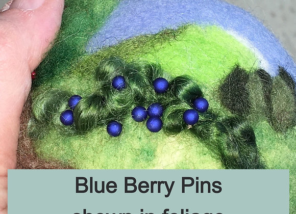 Berry Pins, pack of 10