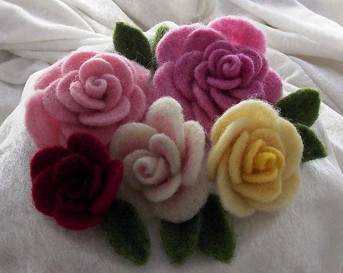 Floribunda! Needle Felted Roses Kit
