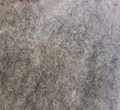 Wool Batting, N-15 (heathery grey)