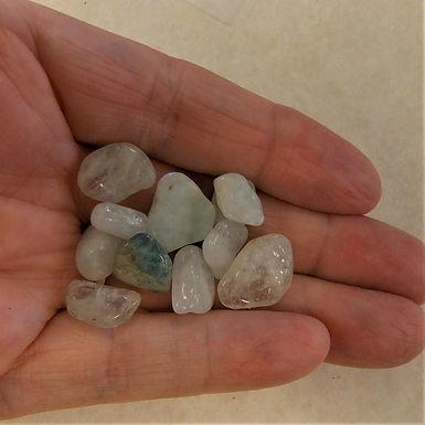 Aquamarine Pebbles, one pack
