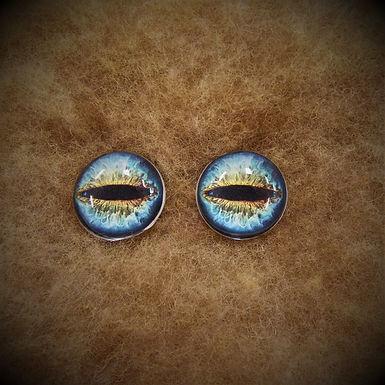 Glass Flatback Critter Eyes, CR4, 1 pair
