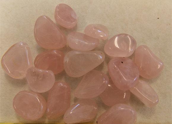 Rose Quartz Pebbles, 1 pack