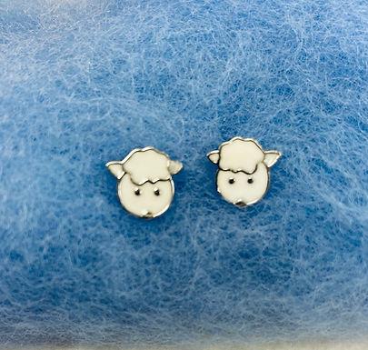 Cute Lamb Face Earrings