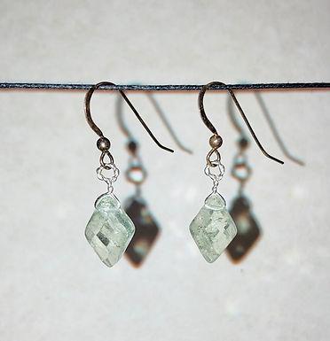 Genuine Prasiolite Earrings