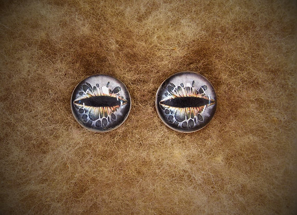 Glass Flatback Critter Eyes, CR2, 1 pair