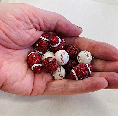 Sport Ball Beads