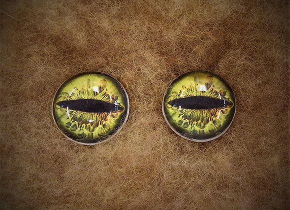 Glass Flatback Critter Eyes, CR6, 1 pair