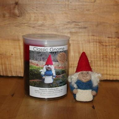 Classic Gnome Lady Needle Felting Kit