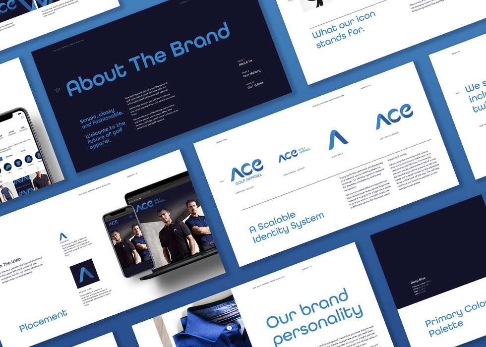 Ace Golf Apparel Brand Guidelines