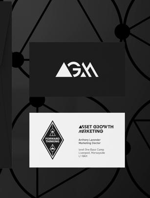 Asset Growth Marketing Business Card